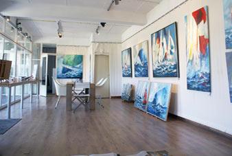 gallery ruimte