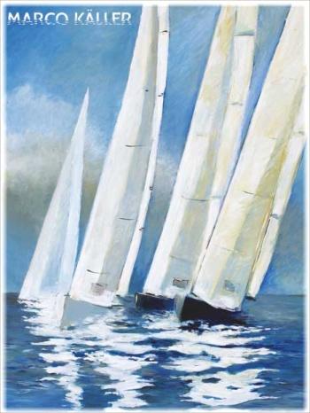 Windstilte, artprint van Marco Käller