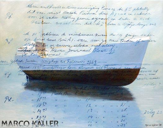 Coasterlogboek 1, artprint van Marco Käller