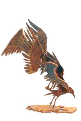 meeuwen seagulls cortensteel sculpture Marco Käller