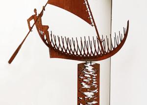 Sailing Pedestal sculpture Marco Käller
