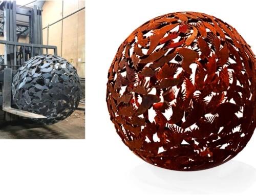 Birds Globe  (sold)