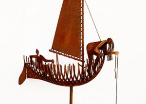 De Navigator (3) sculpture