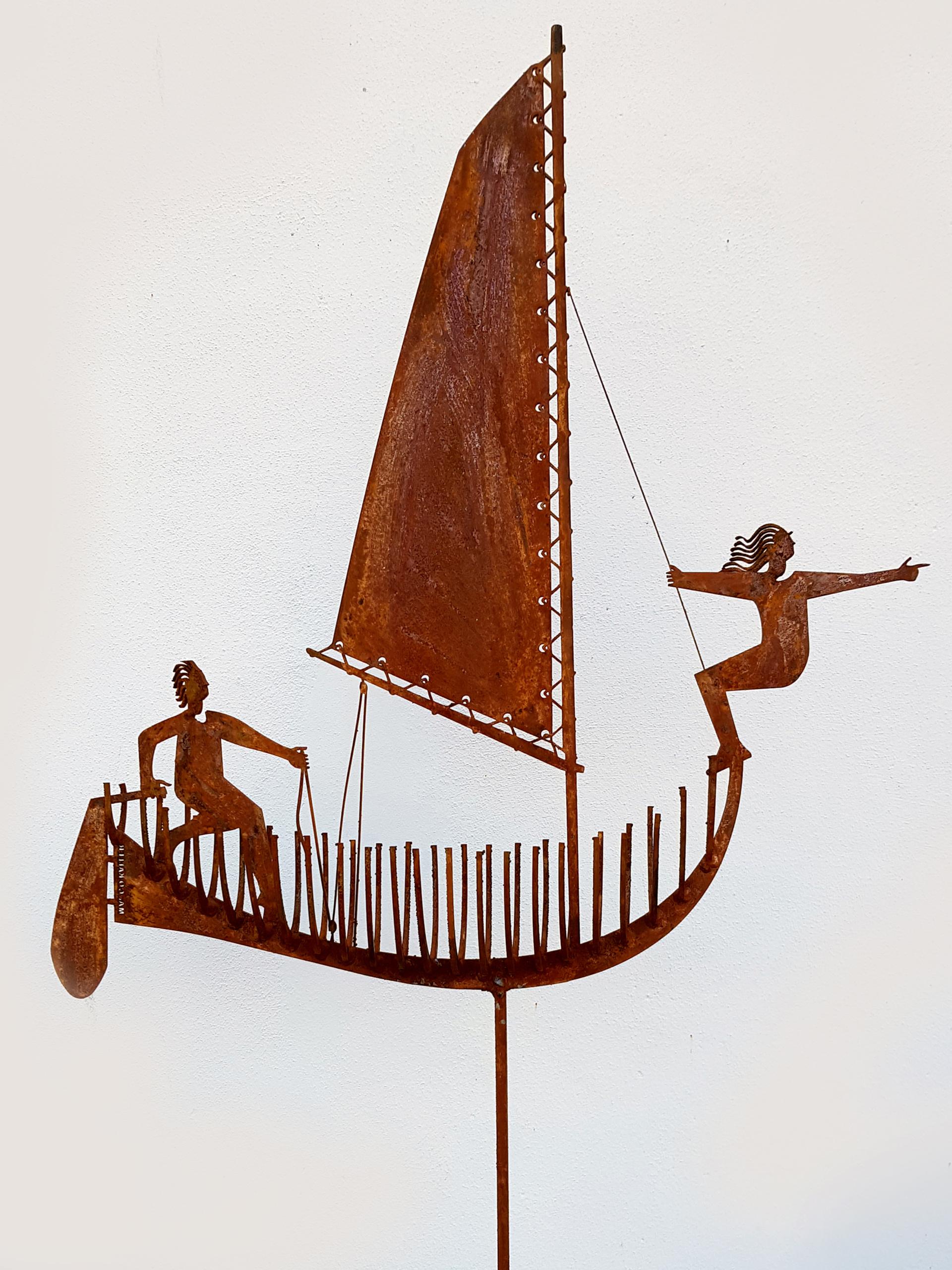 De Navigator sculpture